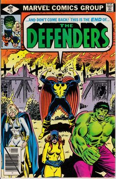 Defenders 75  September 1979 Issue  Marvel Comics  by ViewObscura