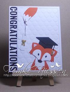 kaartenknutsels van femke: mini serie with MFT graduation accents.