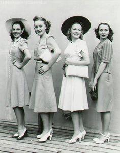 Moda 1940's - Meu sonho vintage.
