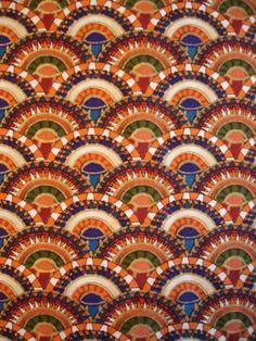 Egyptian motif fabrics on etsy
