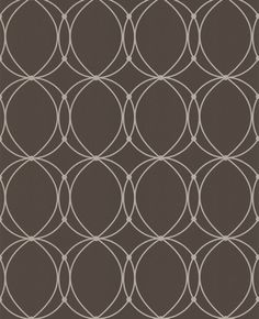 Art deco wallpaper... A more modern look with a vintage flair.  This would be perfect for an accent wall.  Love this pattern.