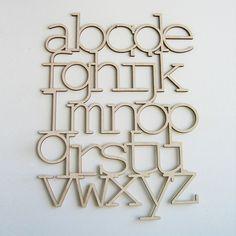 Bookhou Wood Alphabet $50