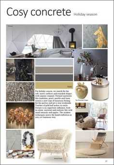 Next Interior Trend - A/W 17/18 - Interieur - Styling prognoses- mode ...
