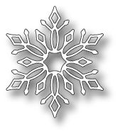 "Lindeman Snowflake - $5.49  	 The Lindeman Snowflake by Memory Box is about 1.9"" x 2.2"".  Gorgeous for your winter and holiday cards!"