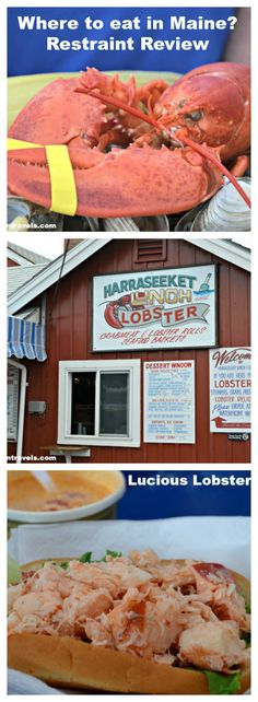 Luscious Lobster Rolls in Maine