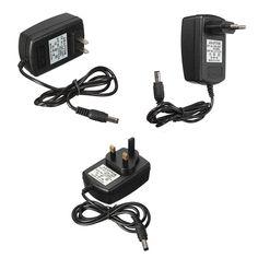 Cargador del adaptador de la fuente de alimentación 2a ac dc 12v para la cámara de seguridad CCTV