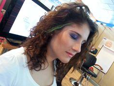 Nuestra amiga Inma en Jornada de formación Martora Make Up