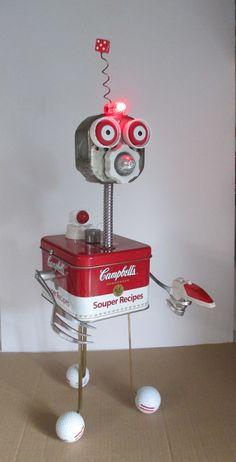 He encontrado este interesante anuncio de Etsy en https://www.etsy.com/es/listing/241167574/lazer-found-object-robot