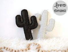 Cactus pillows - limited editions, Cactus Nursery Decor, Adventure Nursery, Saguaro Cactus, Cactus Cushions by LilyRazz on Etsy
