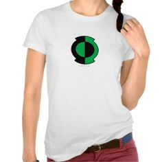 Green Lantern Logo Flipped Shirt