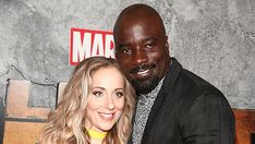 """""""We are feeling cheerful however somewhat anxious too. It's another individual from the family,"""" the pair said. """"While it will move center for us once more, our girl will likely be influenced the most, so we are ensuring she feel Mike Colter, Luke Cage, Expecting Baby, Our Girl, Anxious, Cheer, Entertainment, Stars, Humor"""