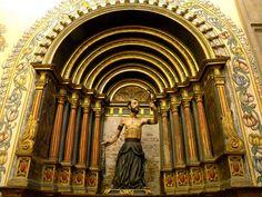 Sacristía 2 de la iglesia de San Francisco - Quito - Ecuador.