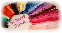 40 Interchangeable Fold Over Elastic Headbands For Newborn Baby Toddler Girl Adult Wholesale Resell Prices $15.00 sold by CocoChicCouture through @Etsy