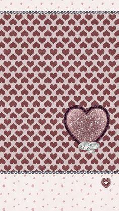 Dazzle my Droid: Freebie♡ Vday walls Diamond Wallpaper, Iphone Wallpaper Glitter, Wallpaper For Your Phone, Heart Wallpaper, Locked Wallpaper, Pink Wallpaper, Wallpaper Backgrounds, Phone Wallpapers, Cover Wallpaper