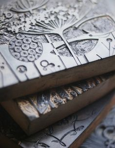 Angie Lewin - can't decide if I love the blocks she uses to make the images more than the images!