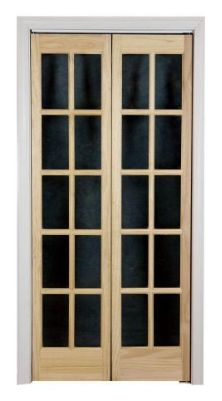 Bifold french doors maybe for the addition home decor for Home depot office doors