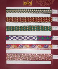Saree lace Borders