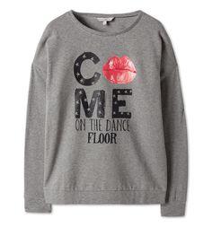 Sklep internetowy C&A | Sweter z nadrukiem, kolor:  szary 27,90zl