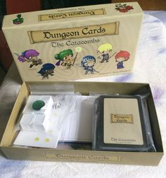 Dungeon Cards The Catacombs on The Game Crafter