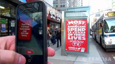 Tic Tac Augmented Reality Ad Campaign - Cemusa NYC Bus Shelters