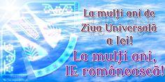 La mulți ani de Ziua Universală a Iei! La mulți ani, IE românească! Calm, Neon Signs, Artwork, Work Of Art, Auguste Rodin Artwork, Artworks, Illustrators