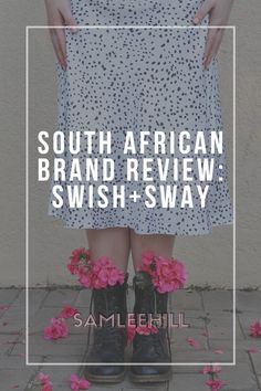 South Africa has some amazing brands and boutiques that no one talks about enough. This is the first post in my new ongoing series where I review local South African brands. So today I am reviewing my first South African brand: Swish+Sway  If you want to start buying more local products or are just interested in what is out there, I suggest you give this a read. Sam Lee Hill | South African Lifestyle Blogger List Of Brands, Good Brands, Local Products, Black Splash, White Midi Skirt, Local Women, Feeling Insecure, Lost City, Best Brand