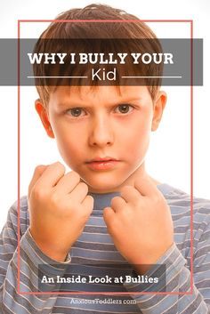 Why do kids bully other kids? How do you help your child deal with bullies? Get the inside scoop and hear what bullies have to say about the whole matter! Bullies want to see a reaction. They want to see others explode. Anti Bullying, Bullying Facts, Teen Bullying, Bullying Stories, Bullying Quotes, Parenting Advice, Kids And Parenting, Teaching Kids, Kids Learning