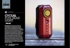 Urban Cyclist Magazine: CYCLIQ FLY6 REAR LIGHT #Fly6 #Cycliq https://cycliq.com/press/urban-cyclist-magazine-cycliq-fly6-rear-light
