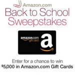 How awesome would itbe to win a $5000 Amazon gift card??? Awesome right?!?!?! Right now, through Sept 7, you can enterAmazon's Back to School sweepstakesfor a chance to win $5000 in Amazon.com Gift Cards!!! It is SUPER easy Entry too!! and remember you can not win if you don't enter!! What would be the […]