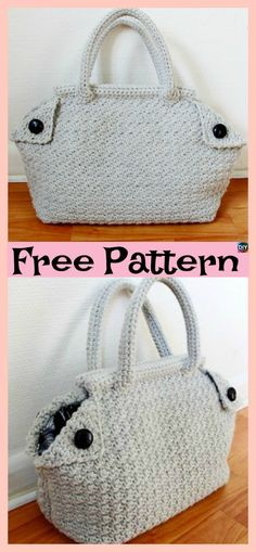 This Crochet Derek Bag is very easy to create, the pattern isn't hard to understand either. With a few hours of work, you will have a great Derek bag for Crochet Hood, Crochet Shell Stitch, Bead Crochet, Diy Crochet, Crochet Ideas, Crochet Handbags, Crochet Purses, Diy Bags Purses, Purses And Handbags