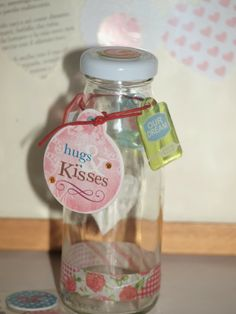 Tuo Scrapbooking: message in a bottle