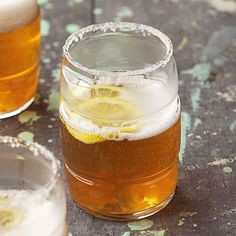 Ginger Beer Shandy Enjoy this fresh take on a classic lemonade shandy, but with ginger ale.