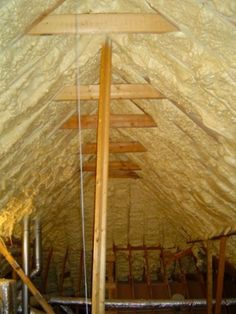 spray foam insulation roofline atmospheric combustion - questions to ask before considering retrofit