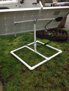 Pole Mount For Solar Panels Solar Panels Pinterest