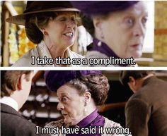 Lady Violet Crawley + Professor M. McGonagall + the amazing actress Maggie Smith=THE BEST!!