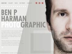 Moonfruit Template - Portfolio #website #design