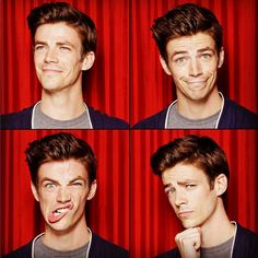 I have this strong desire to be his friend. Grant Gustin seems like a genuinely fun person to be around.