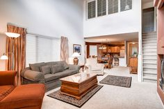 Family Room space, Bay Club Condo, Frisco, Colorado, brought to you by Colorado Rocky Mountain Resorts - Vacation Rentals & Property Management.