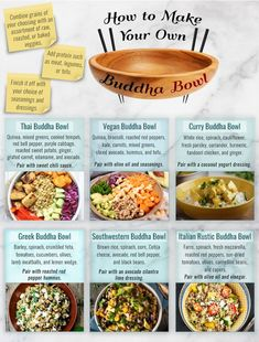 Buddha bowl with your choice of grains, veggies, and protein. Buddha bowl with your choice of grains, veggies, and protein. Vegan Thai Curry, Clean Eating Snacks, Healthy Eating, Healthy Grains, Whole Food Recipes, Dinner Recipes, Vegetarian Recipes, Healthy Recipes, Tuna Recipes