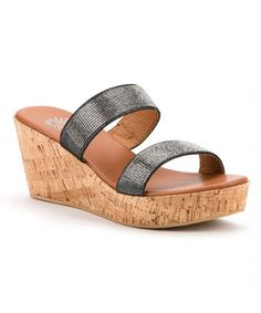 This Black Alvira Sandal - Women by Yellow Box Shoes is perfect! #zulilyfinds