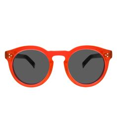 Illesteva Leonard II Red & Black Sunglasses