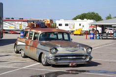 Enjoy this not-so-little wagon gallery from the first five days of HOT ROD Power Tour 1962 Chevy Impala, 1957 Chevy Bel Air, Chevy Classic, Classic Cars, Beach Wagon, Chevy Nomad, Car Station, Sports Wagon, Rusty Cars