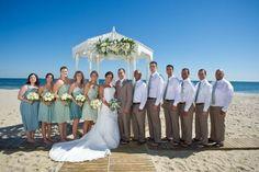 Show me your groom/groomsmen outdoor wedding suits! Not doing tuxes.. « Weddingbee Boards