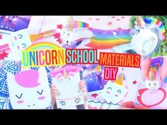 DIY mini UNICORN -creative and cool crafts with cardboard - YouTube