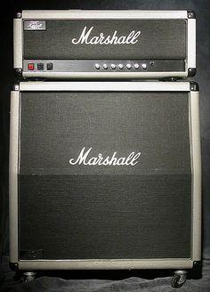 Marshall SIlver Jubilee half stack #marshall #silverjubilee
