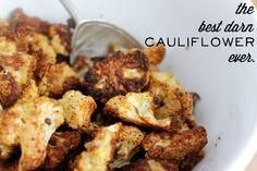 The best darn cauliflower ever