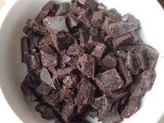 Homemade Chocolate or Carob Chips_ these taste great, but don't use coconut sugar-it won't melt. They also dissolve into cookies. It's still a yummy cookie though.