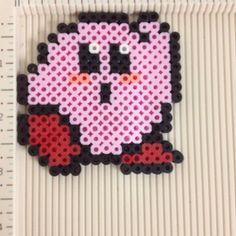 Kirby perler beads by evbeadsprites