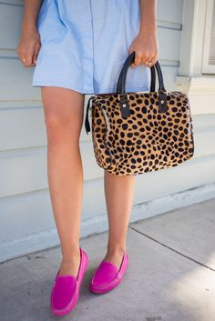 Pink Loafers - Gal Meets Glam