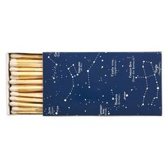 Jayson Home Constellation Matches ($4.95) ❤ liked on Polyvore featuring home, home decor, fillers, other, stuff, things, star home decor and jayson home